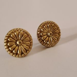 Lia Sophia gold earrings